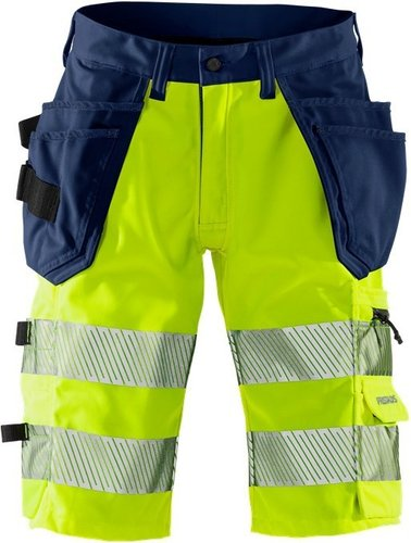 High Vis Stretch-Shorts Kl. 1 2509 PLU